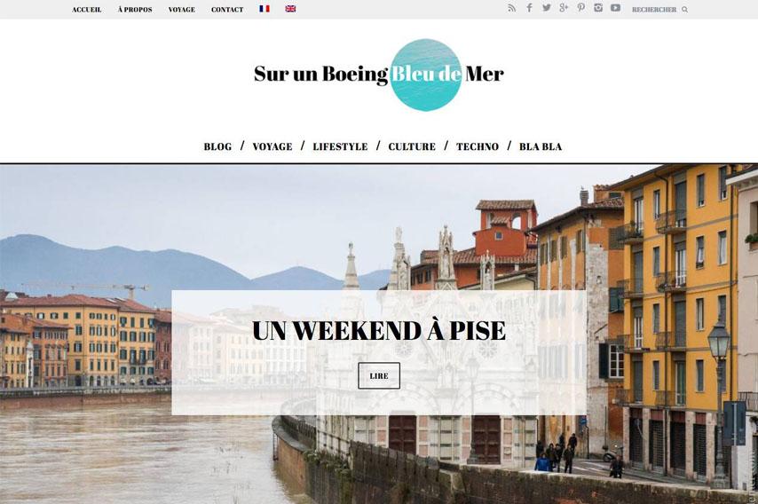 Blog Sur un Boeing Bleu de Mer
